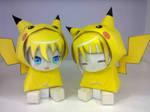 Pikachu RinxLen papercraft
