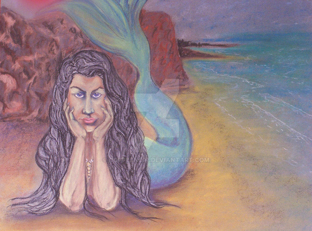 Beach Portrait by coffeenoir