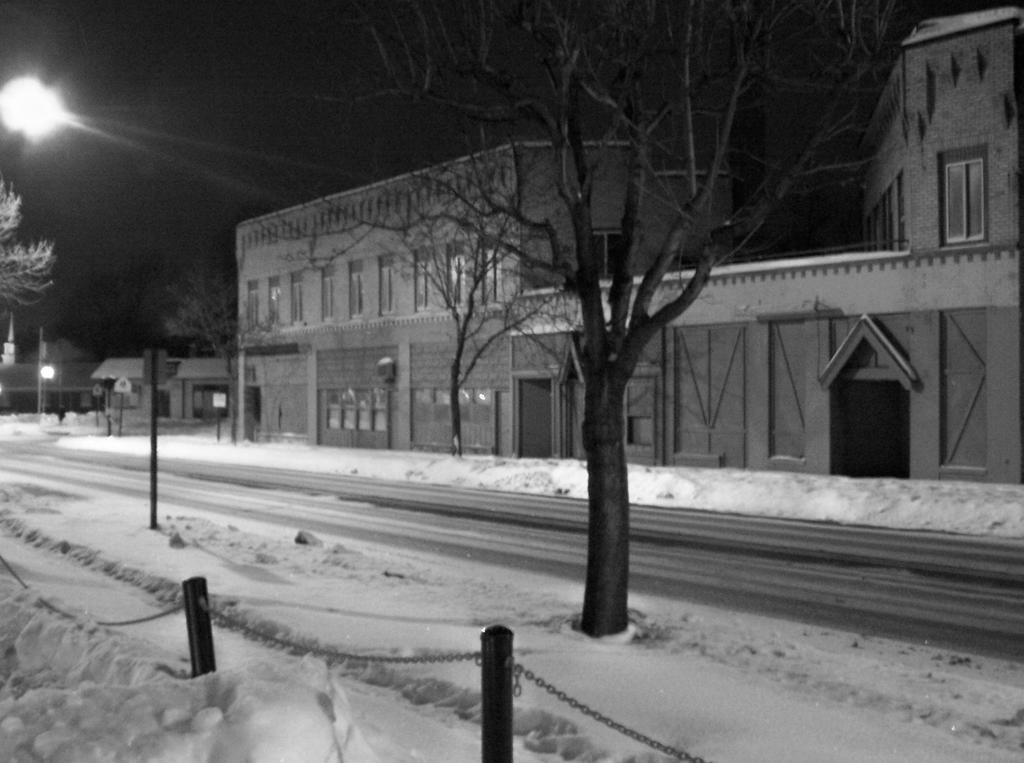 Cuyahoga Falls Ave. winter 2 by coffeenoir