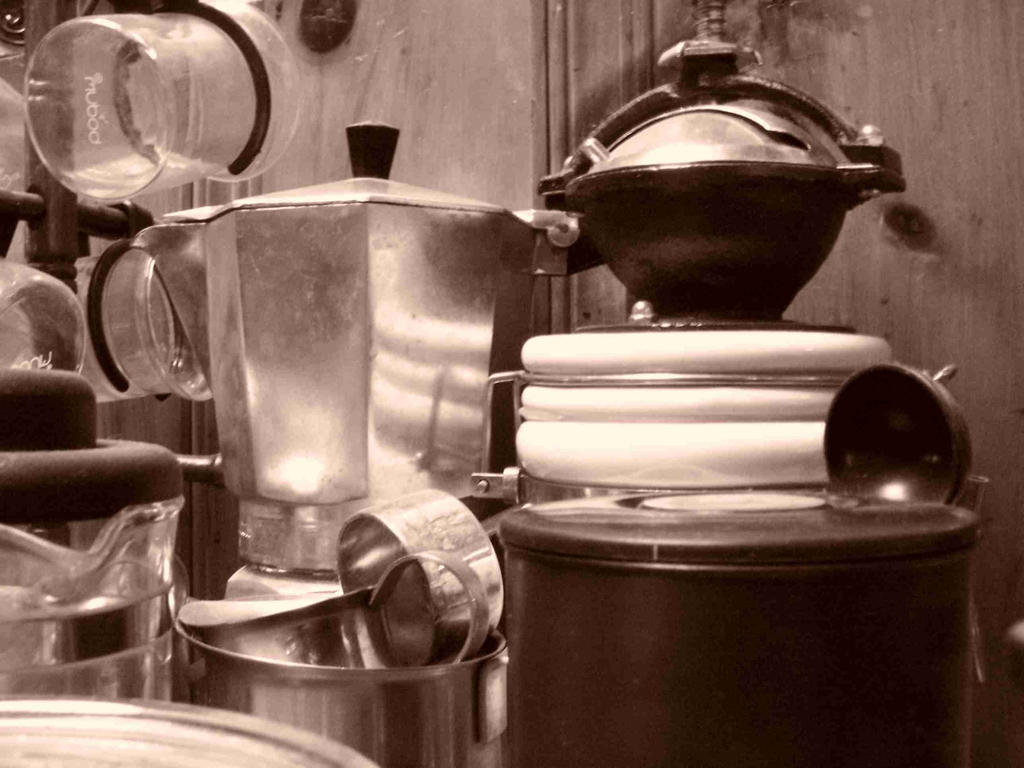 Coffee Shelf by coffeenoir