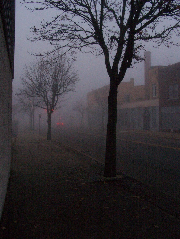 Fog on a Sunday by coffeenoir