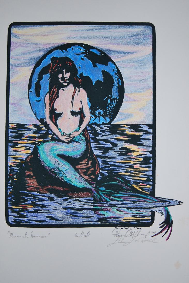 A Mermaids Portrait by coffeenoir