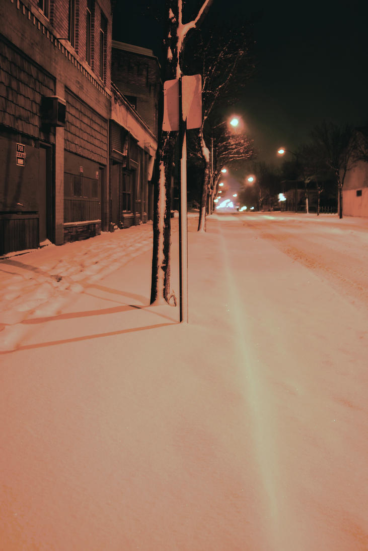 Winter Street by coffeenoir