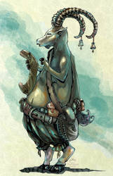 Ibex Messenger by Tangmaelon