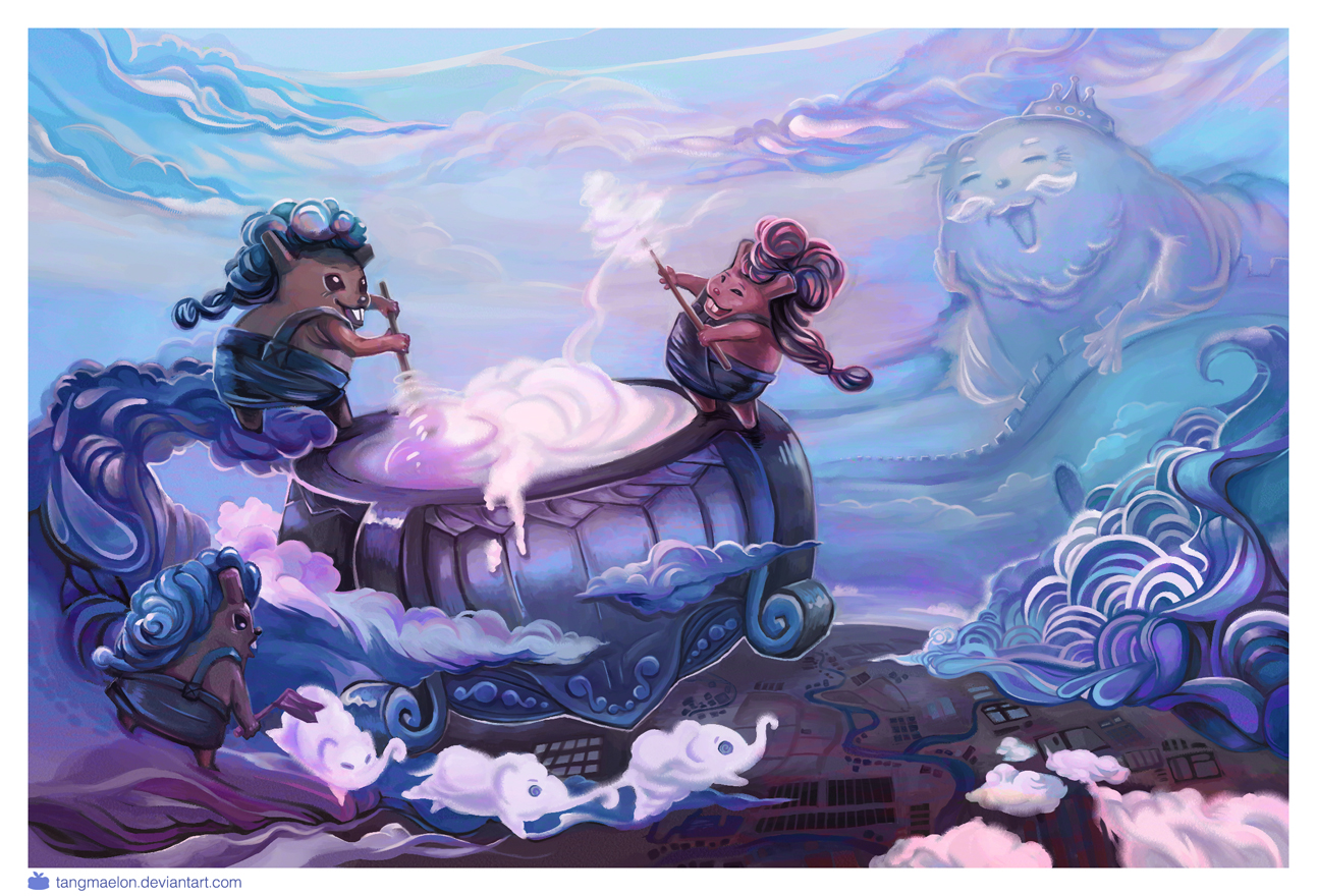 The Cloud Makers by Tangmaelon