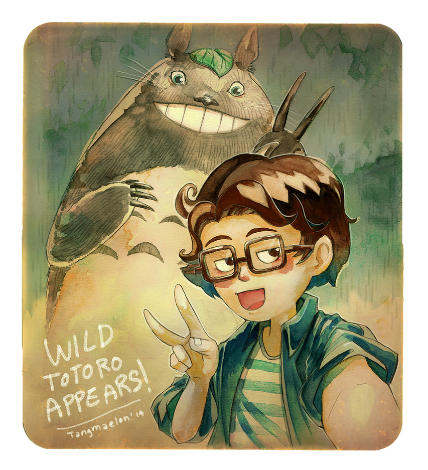 New ID: A selfie with Totoro by Tangmaelon
