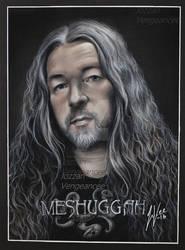 Tomas Haake - Meshuggah drawing