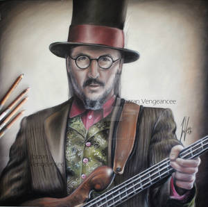 Les Claypool Portrait