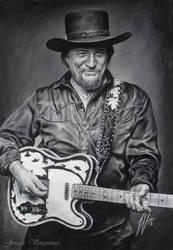 Waylon Jennings Drawing