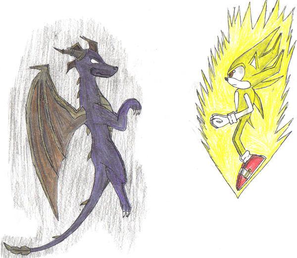 Sonic Vs Spyro