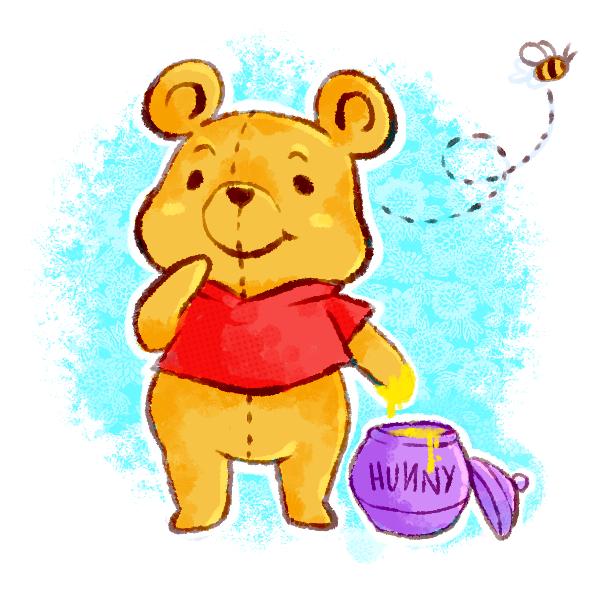 Pooh by xtraZenny