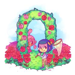 flower arch by xtraZenny