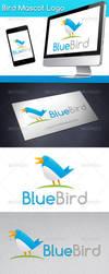 Bird Mascot Logo by BossTwinsArt