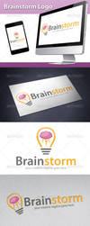 BrainStorm Logo by BossTwinsArt