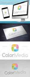 Color Media Logo by BossTwinsArt