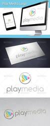 Play Media Logo by BossTwinsArt