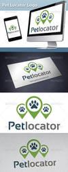 Pet Locator Logo by BossTwinsArt