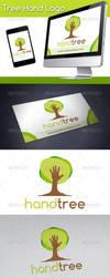 Tree Hand Logo by BossTwinsArt