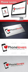 Phone Lovers Logo by BossTwinsArt
