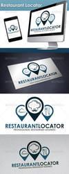 Restaurant Locator Logo by BossTwinsArt