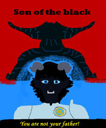 Son of the Black cover by K4l84n3ri