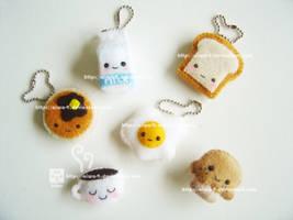 breakfast plushies by aiwa-9