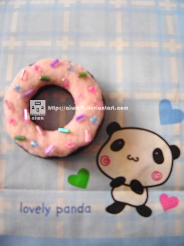Pink Donut by aiwa-9