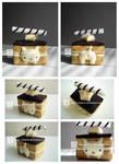 nyanko chocolate cake