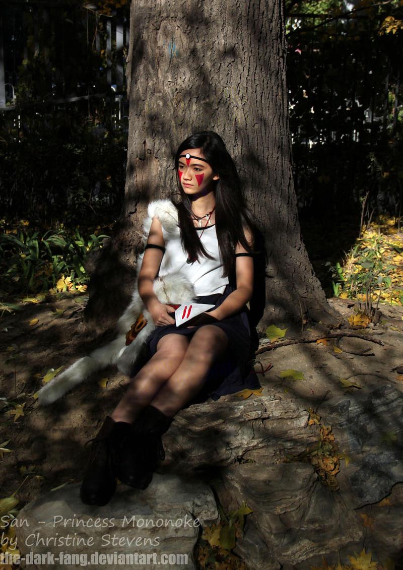 princess mononoke san costume by the dark fang