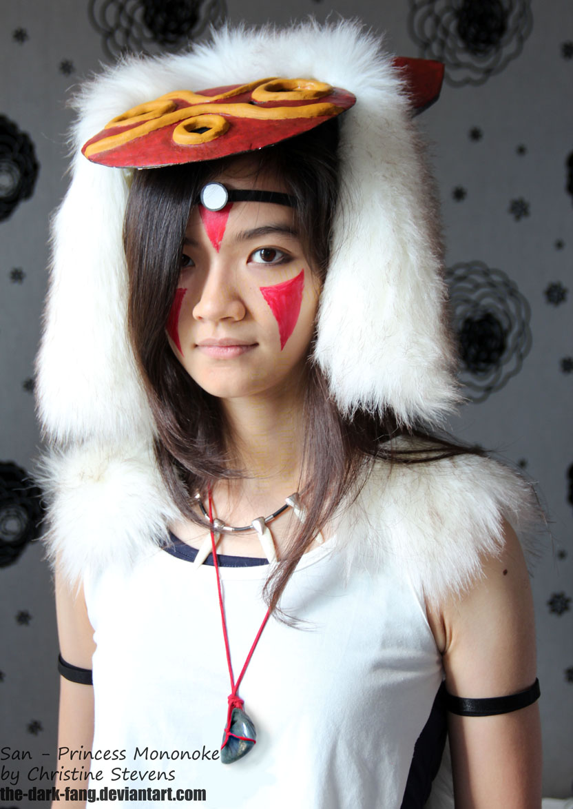 princess mononoke portrait iii by the dark fang