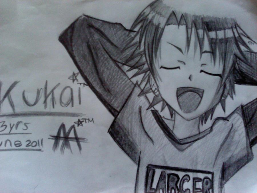Anime boy kukai by gx ksjy