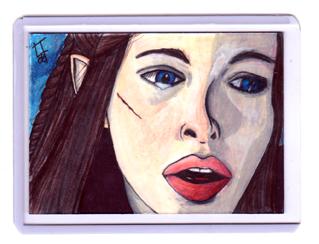 Arwen Sketchcard by carnalunacy