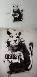 Disobey Rat by stixv