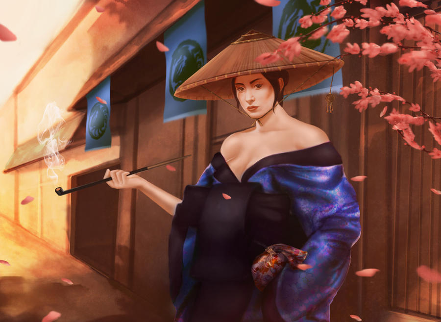 L5R: Yasuki Shairei by JazzSiyArt
