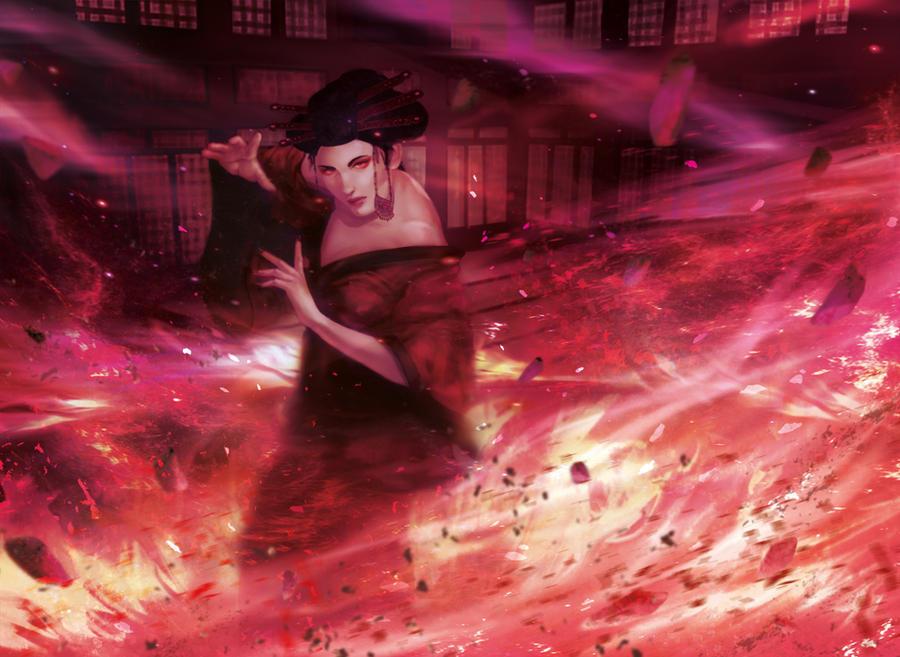 L5R: Way of the Phoenix by JazzSiyArt