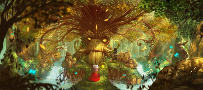 Noah meets the tree of dreams.