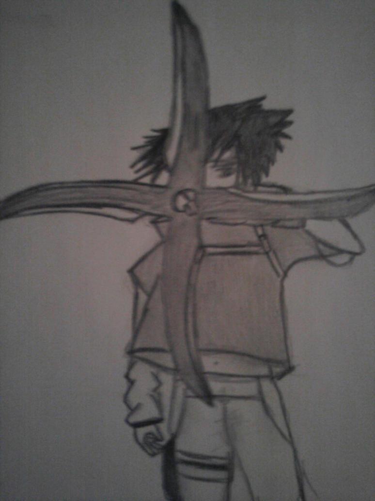 Sasuke demon wind shuriken by dinkelsmoothi on deviantart - Sasuke uchiwa demon ...