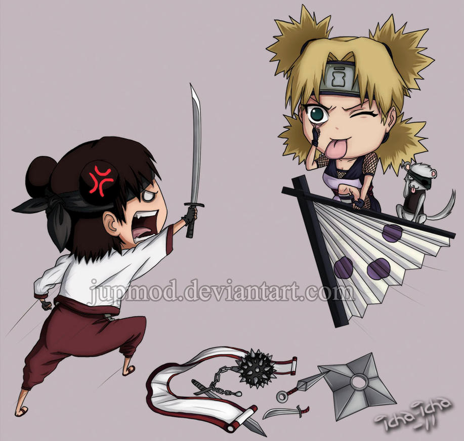 Tenten vs. Temari Rematch by JuPMod
