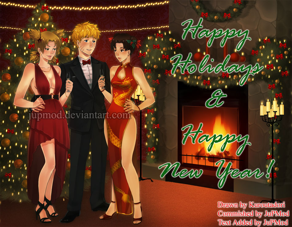 Holidays and New Year Wishes from JuPMod by JuPMod