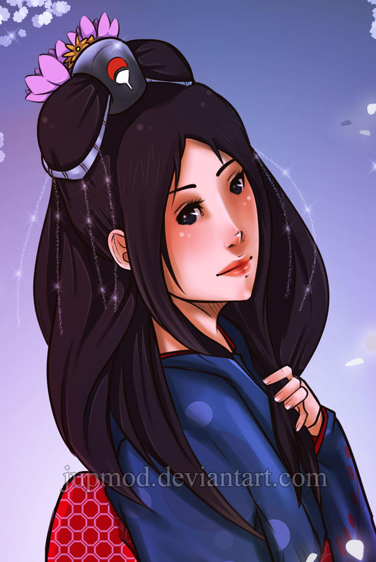 Mikoto Uchiha: Serene Beauty by JuPMod