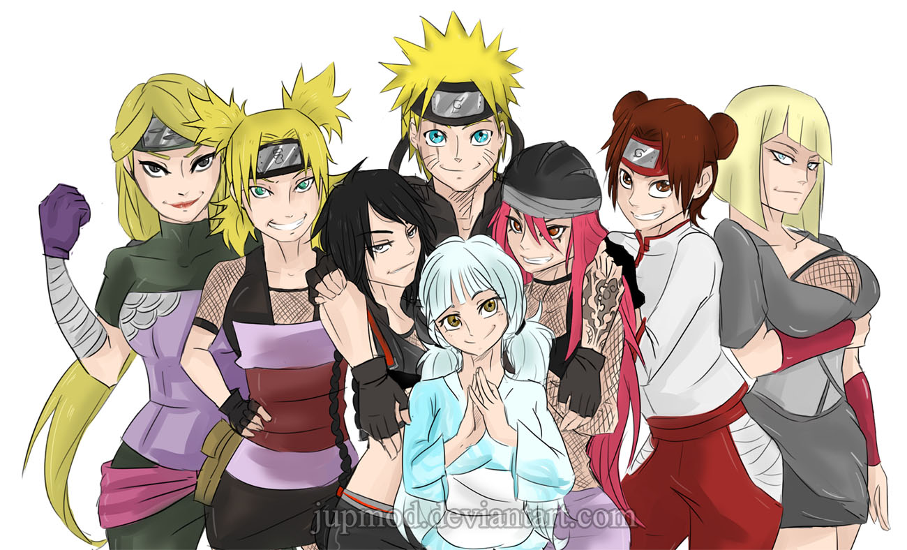 The Sealed Kunai: Naruto's Ladies (Harem) by JuPMod on