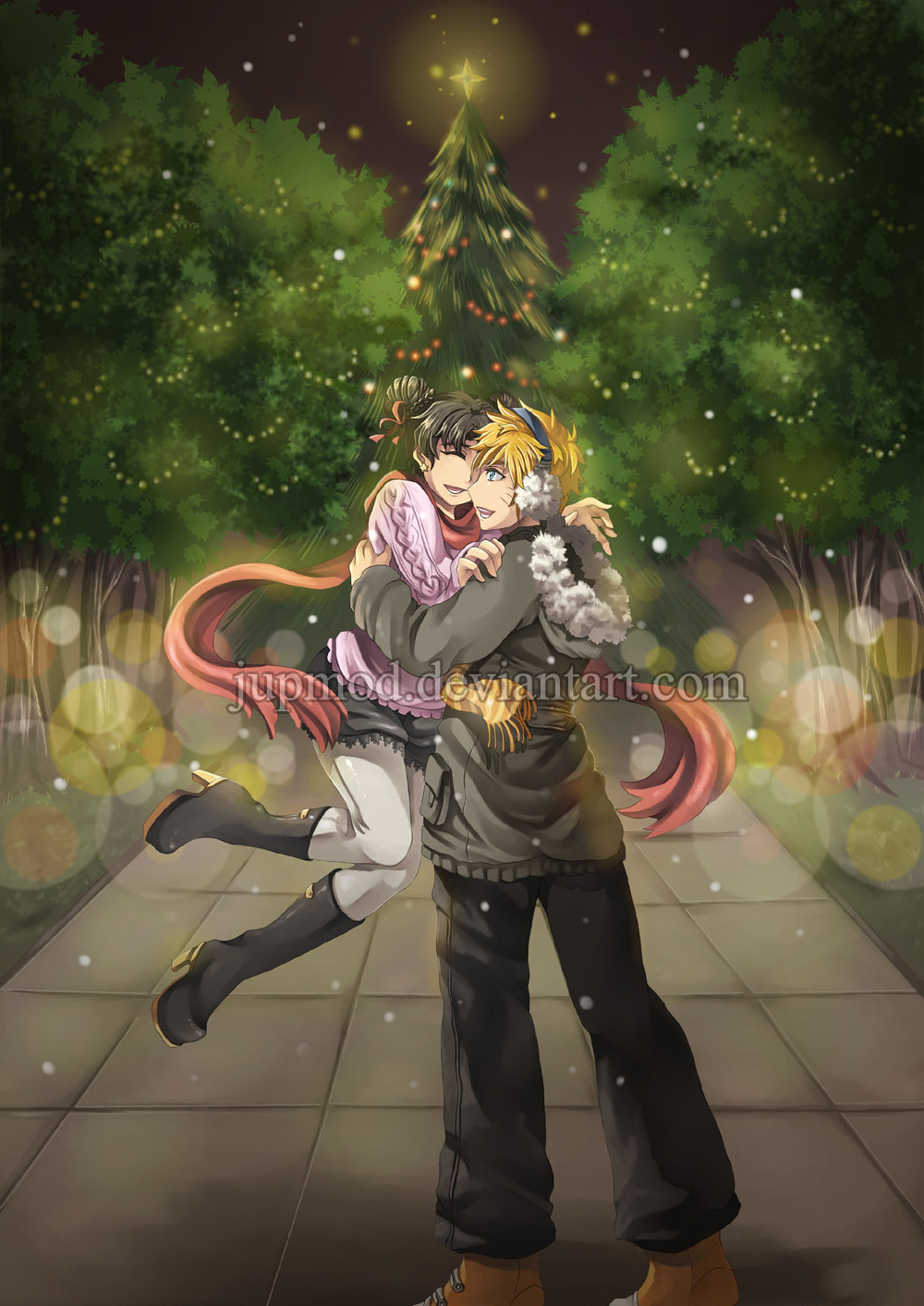 NaruTen: Holiday Joy Together (Full-version) by JuPMod