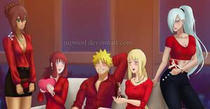 Naruto and Ship Movie Girls: Happy Valentine's Day