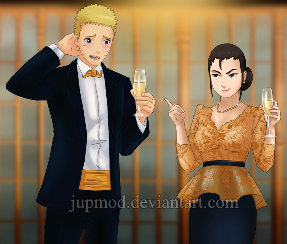 A Matriarchal Evening: Naruto and Yoshino (Clup) by JuPMod on DeviantArt