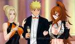 Naruto and The Lady Kages: An Evening Seduction CU by JuPMod