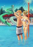 NaruTema: Waterpark Date (Full-Ver)