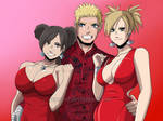 NaruTemaTen: Valentine Love Trio (Full-Ver) by JuPMod