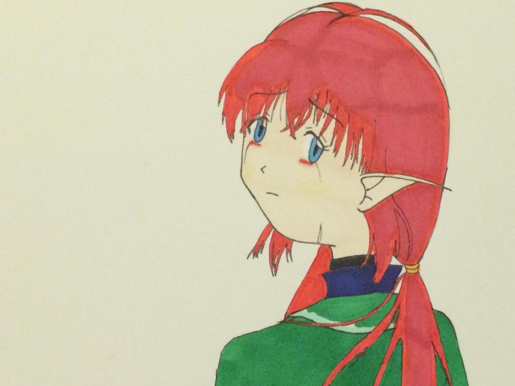 Sad Tyrelin by AozoraMiyako