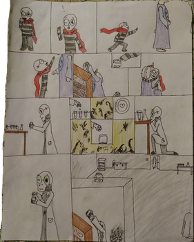 Page four of the comic