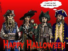Happy Halloween by Swashbookler